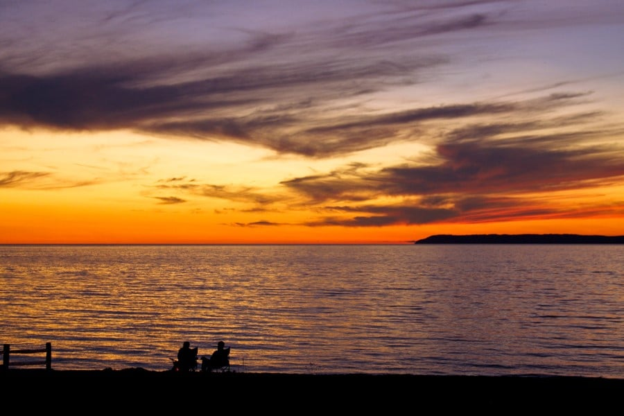 GABB We-Are-Just-A-Small-Part. Couple at Sunset. Jeff Rabidoux (1)