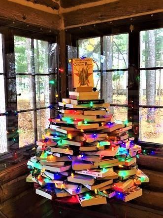 book christmas tree Glen Arbor
